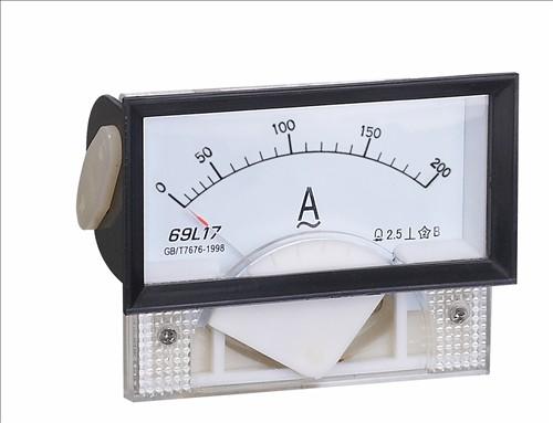 指针式69c17-a直流电流表板表