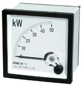 指针式三相功率表 sq96-kw有功表