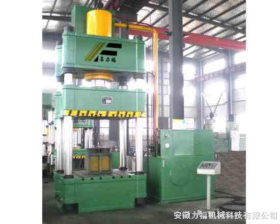 315吨四柱液压机品牌,315吨液压机工作台,行程