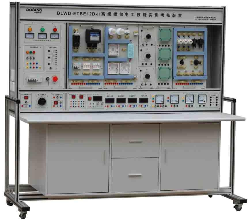 山东栋梁科技设备有限公司 --> 更新日期:2013-6-14 所 在 地:中国大陆 产品型号:DLWD-ETBE12D-II 简单介绍:技术参数 1、尺寸:16008001800 mm 2、输入:三相五线AC38010% 50HZ 3、输出(每工位): 三相五线AC380V10% 50HZ ;单相三线AC220V10% 50HZ直流稳压电源:3~30V/1.