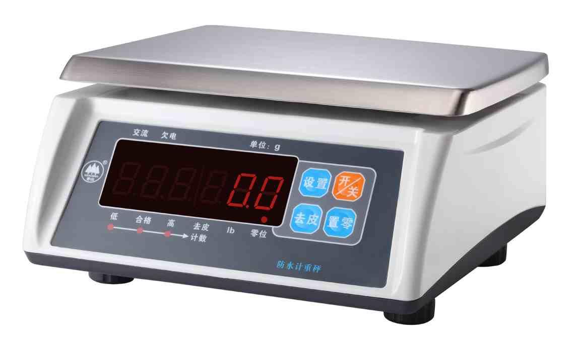 衡器/秤  上海颖领电子衡器有限公司 产品展示 电子秤 电子称 防水计