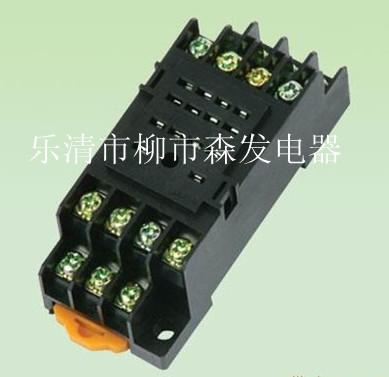 大一工控8脚继电器底座接线图