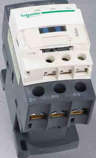 保护可能发生过负荷的电路,接触器适宜于频繁地起动和控制交流电动机.