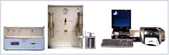 覆压孔隙度渗透率测量仪