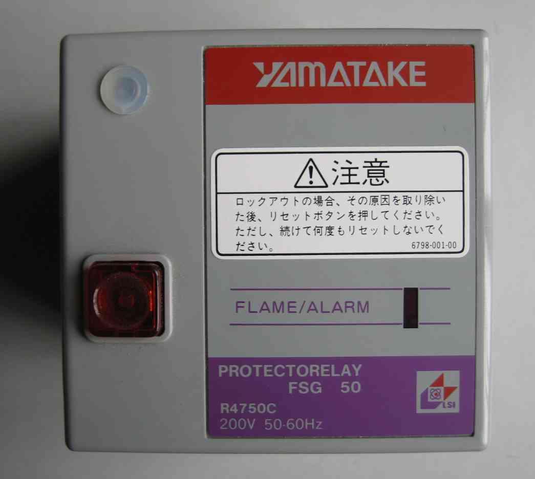 上海亨享自动化科技有限公司 --> 更新日期:2013-8-6 所 在 地:其它 产品型号:R4715B1011-1 简单介绍:供应azbil/yamatake山武燃烧控制器FRS100C200FRS100是具有起动时安全点火回路的燃烧安全控制器。起动时如有异常,阻止点火,运行中断火等到异常情况,立即切断燃烧系统,确保安全。火焰/报警指示器 常亮:正常燃烧闪亮;正常燃烧时:脱火点火过程:点火失败