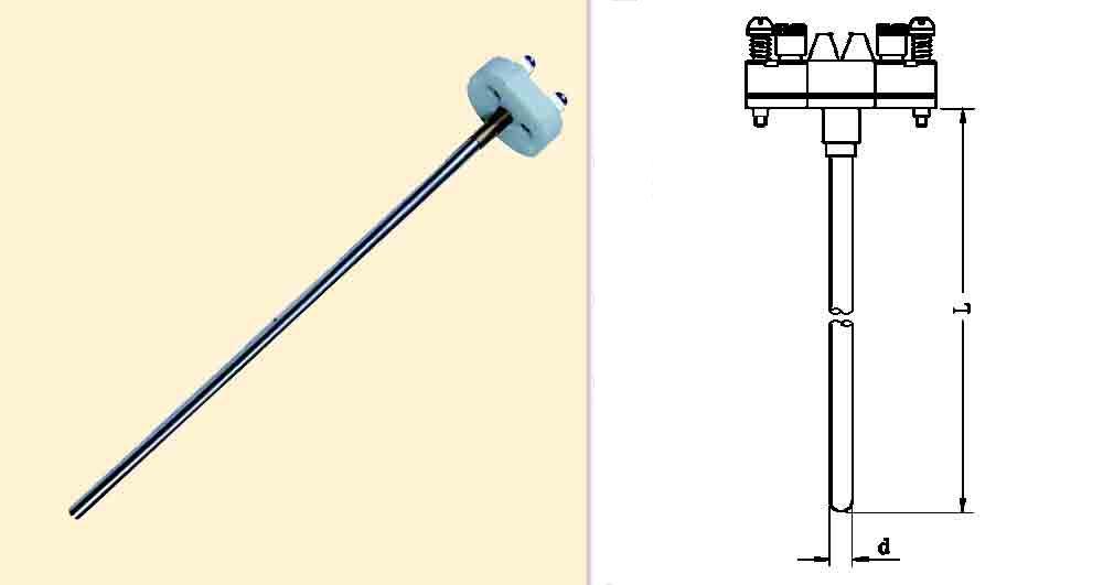 它的工作原理是根据金属的热电效应,利用热电偶两端所产生的温差电热