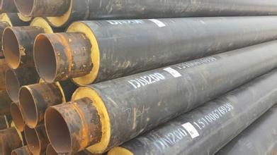 聚氨酯低温直埋保温管批发价格//聚氨酯预制直埋管规格