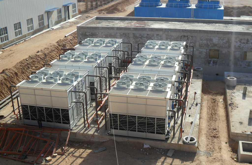 佳木斯1700吨闭式冷却塔
