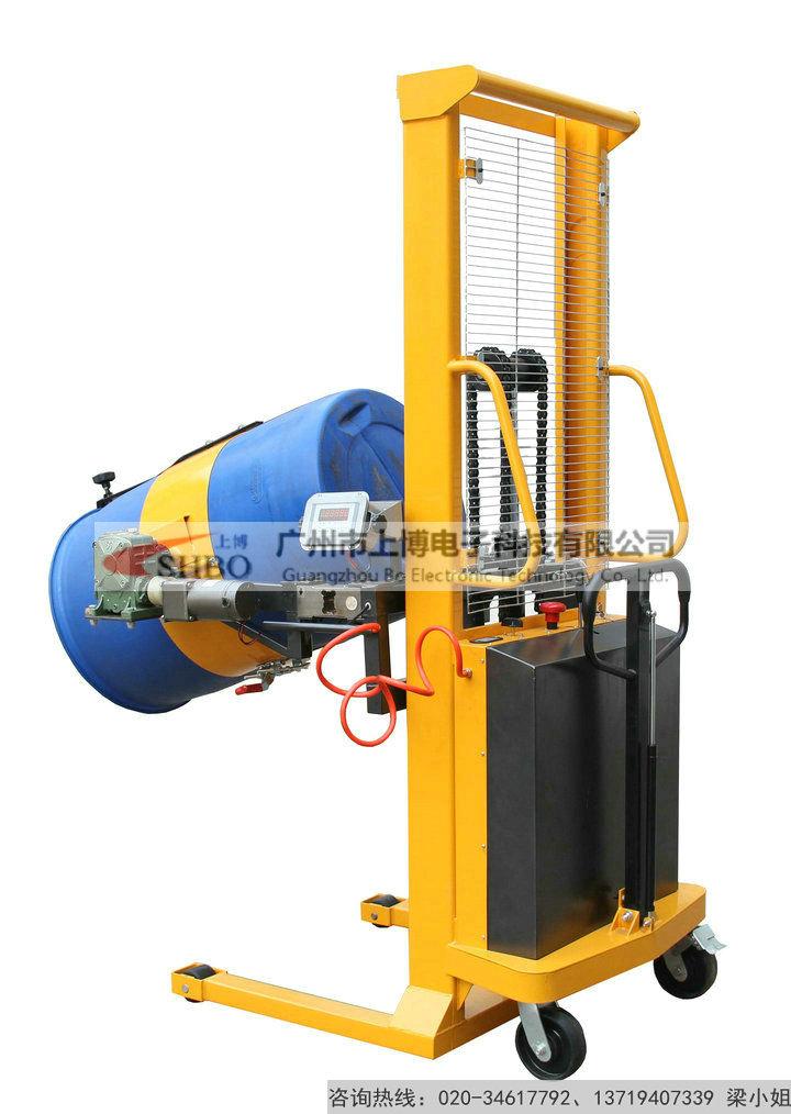 油桶升降车带电子秤 油桶翻转车电子秤