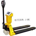 奕宇品牌、上海耀华XK3190-A12叉车秤、1T叉车电子称
