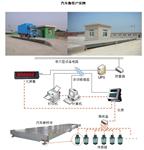 广州100吨3*14米,3*16米数字式电子汽车衡、电子地磅厂价格