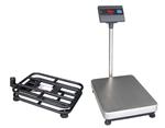 浙江带打印电子秤,150公斤带轮子电子台秤,200kg落地式电子称