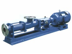 G35-1上海鄂泉水泵厂G35-1单螺杆泵