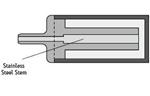 瓶底(Bottom-of-the-Bottle)流动相过滤头(货号:PSL613457)
