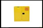 国产30加仑黄色易燃品工业安柜,防火安柜,化学品安柜使用