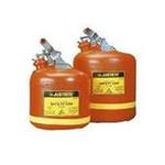 Justrite19L 圆形聚乙烯安罐,易燃腐蚀性液体安罐,耐腐蚀安罐