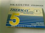 5格E型热敏试纸英国TMC温度纸132-154度变色试纸THERMAX温度美