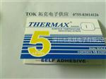 5格I型热敏试纸英国TMC温度纸249-290度变色试纸THERMAX温度美