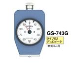 日本得乐GS-743G邵氏硬度计 进口橡胶硬度计