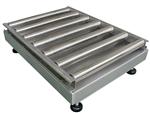 100公斤筛选滚筒电子秤,不锈钢轨道电子平台称