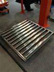 无动力流水线滚筒秤,100公斤托辊电子秤