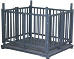 称羊专用带围栏牲畜秤,动物秤5000公斤