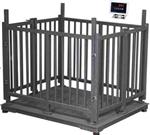 3吨犊牛称重器,带围栏动物秤