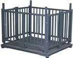 5000千克称动物电子秤,5吨带围栏电子畜牧秤