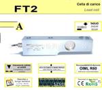 意大利AEP波纹管称重传感器   FT5:10kg,20kg,50kg,100kg(C2)