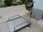 高精度碳钢轮椅秤,透析体重秤