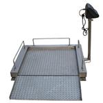 300KG透析轮椅称防腐蚀,电子轮椅称