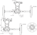 3851DP双法兰液位变送器,双法兰液位变送器规格型号表
