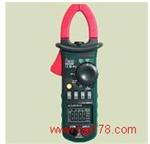 带温度电容测试钳形电流表 钳形电流检测仪 钳形电流分析仪