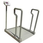 不锈钢可折轮椅电子秤-全不锈钢扶手轮椅称