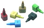 JR-55022-5,JR-55024-5整体手拧接头�C各色的PEEK