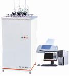 XRW-300系列立式台式PLC控制热变形维卡软化点温度测定仪