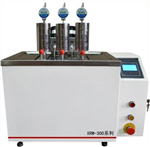 微机控制三架热变形维卡软化点温度测定仪