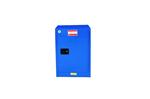 4加仑蓝色防腐蚀工业安柜适用范围