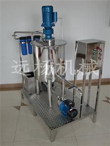 洗衣液生产设备,一条洗衣液生产线多少钱