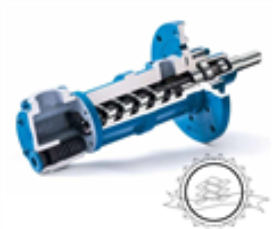 奥地利KRAL克拉磁耦合密封KF450系列三螺杆泵