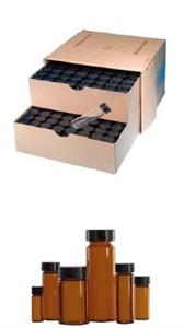 wheaton Lab File 里的取样瓶(带盖) W224606 W225292 W224607 W22
