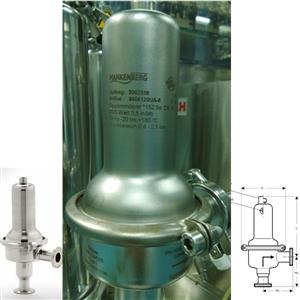 德国Mankenberg制药应用领域卫生级认证减压阀