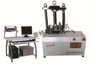 微机控制塑料排水带芯带压屈强度试验机图片,压屈强度机价格